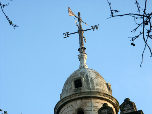 Weathervane restoration - St John's Church, Bethnall Green
