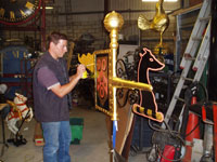 Clock Restoration & Gilding Expertise - Gillett & johnston