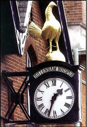 Restoration of Tottenham Hotspur Clock by Gillett & Johnston
