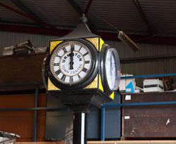 Street and Pillar Clocks - Gillett & Johnston