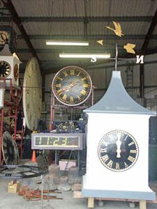 Turret Clocks - Gillett & Johnston
