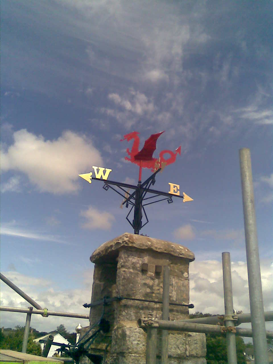 Gillett & Johnston Dragon Weathervane